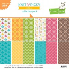 Knit Picky Fall 12x12 Collection Pack