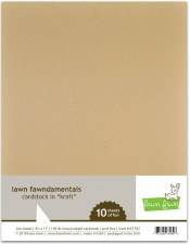 Lawn Fawn Cardstock Pack- Kraft