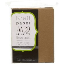 Core'dinations A2 Envelope Pack, 50ct- Kraft
