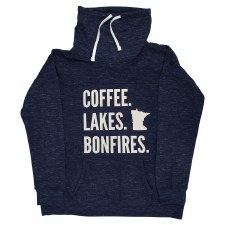 Coffee, Lakes, Bonfires Sweatshirt
