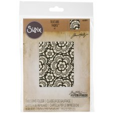 Tim Holtz Embossing Folder- Lace
