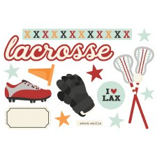 Simple Pages: Page Pieces Die Cuts- Lacrosse