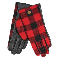 Great Northern Buffalo Check Gloves- Ladies