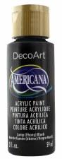 Americana Acrylic Paint, 2oz- Neutrals: Lamp Black