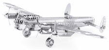 Metal Earth 3D Metal Model Kit- Aircraft, Lancaster Bomber