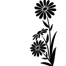Darice Embossing Folder- Nature- Large Daisy