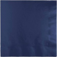 """Touch of Color 6.5"""" Napkin- Navy"""