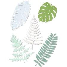 Sizzix Thinlits Dies- Large Tropicals