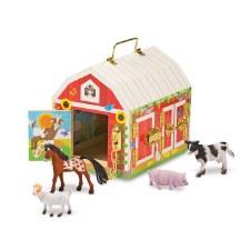 Melissa & Doug Wooden Latches Barn