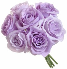Ashley Rose Wedding Bouquet- Lavender