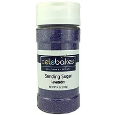 Sanding Sugar, 4oz- Lavender