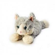 Warmies Cozy Plush: Cat, Gray