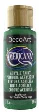 Americana Acrylic Paint, 2oz- Greens: Leaf Green