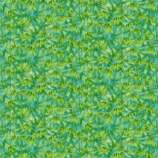 Panda Sanctuary Bolted Fabric- Leaves