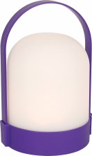 LED Plastic Lantern- Purple