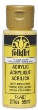 FolkArt 2 Oz. Acrylic Paint- Lemon Custard