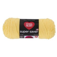 Red Heart Super Saver Yarn- Lemon