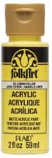 FolkArt 2 Oz. Acrylic Paint- Lemon Yellow