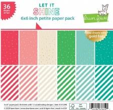 Let it Shine 6x6 Paper Pad