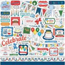 Let's Celebrate Element Sticker Sheet