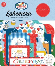 Let's Celebrate Ephemera Die Cuts