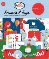 Let's Celebrate Ephemera Die Cuts- Frames & Tags