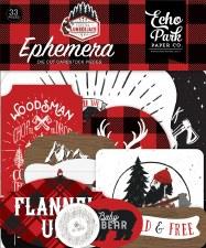 Let's Lumberjack Die Cuts- Ephemera