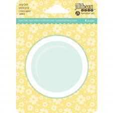 Jillibean Soup Shaker Cards- Circle, Large Inserts