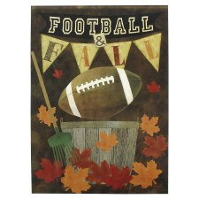 "House Flag, 28""x40""- Football"