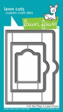Lawn Fawn Interactive Craft Dies- Lift the Flap