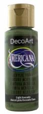 Americana Acrylic Paint, 2oz- Greens: Light Avocado