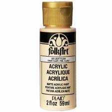 FolkArt 2 Oz. Acrylic Paint- Light Flesh