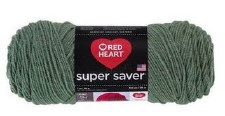 Red Heart Super Saver Yarn- Light Sage
