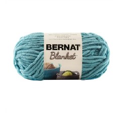 Bernat Blanket Yarn- Light Teal