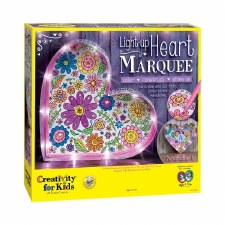 Creativity for Kids Craft Kit- Light Up Heart Marquee