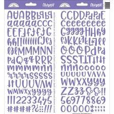 Abigail Alphabet Sticker- Lilac