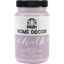 FolkArt Home Decor Chalk Paint 8 oz- Lilac