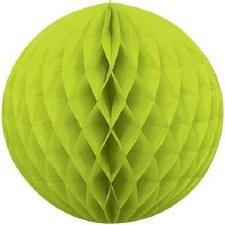 "Honeycomb 8"" Ball Decoration- Lime Green"