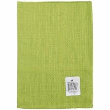 "Waffle Weave 20""x28"" Tea Towel- Lime Green"