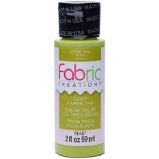 Fabric Creations 2oz Fabric Paint- Lime