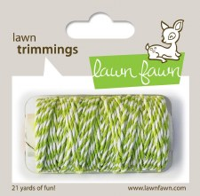 Lawn Fawn Trimmings Cord- Lime
