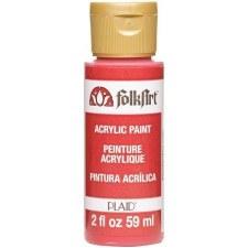 FolkArt 2 Oz. Acrylic Paint- Lipstick Red