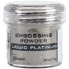 Embossing Powder- Liquid Platinum