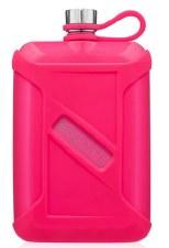 Liqour Canteen 8oz- Neon Pink