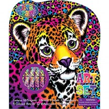 Kid's Art Set- Lisa Frank