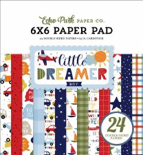 Little Dreamer Boy 6x6 Paper Pad