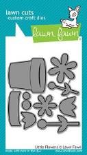 Lawn Fawn Craft Dies- Little Flowers