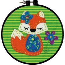 Learn 2 Craft Felt Applique Kit- Little Fox