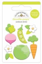 Hoppy Easter Doodle-Pops- Little Garden