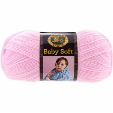 Baby Soft Yarn- Little Girl Pink